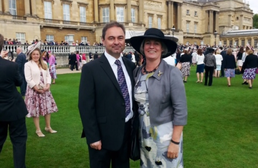 South Holland District Councillors Attend Royal Garden Parties
