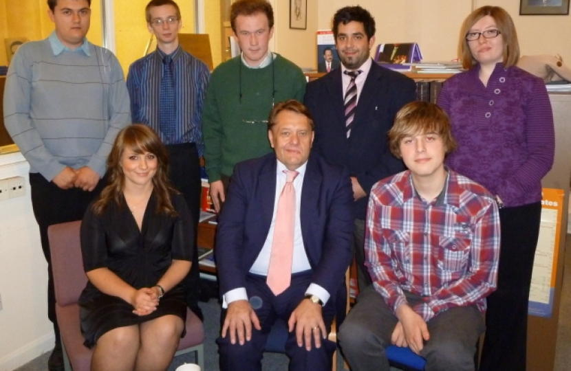 CF members at the afternoon tea with John Hayes MP.